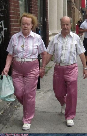 Matching Outfits Are Never A Good Idea