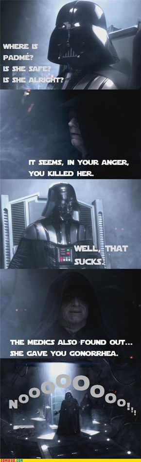 So, That's How He Became Darth Vader