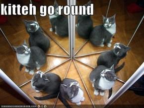 kitteh go round