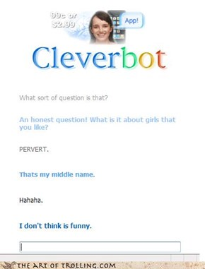 Cleverbot's middle name