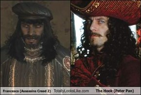 Francesco (Assassins Creed 2) Totally Looks Like The Hook (Peter Pan)
