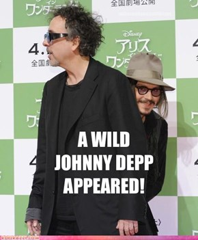 A Wild Johnny Depp Appeared!