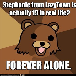 PedoBear: Learns the truth about Stephanie