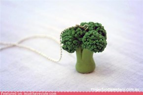 Broccoli Necklace