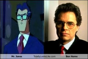 Mr. Jones Totally Looks Like Ben Horne