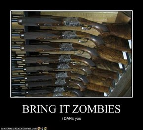BRING IT ZOMBIES