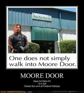 MOORE DOOR