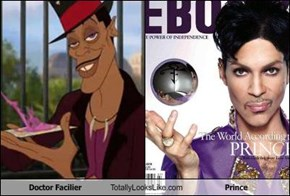 Doctor Facilier Totally Looks Like Prince