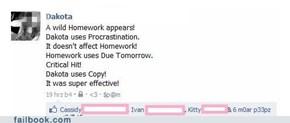 A Wild Homework Appears