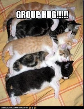 GROUP HUG!!!!!