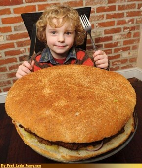Britiain's Biggest Burger