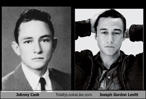 Johnny Cash Totally Looks Like Joesph Gordon Levitt