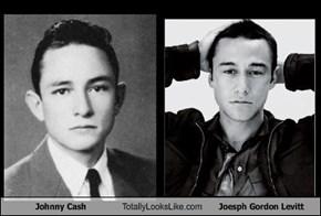 Johnny Cash Totally Looks Like Joesph Gordon Levitt