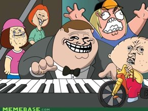 Family guy troll