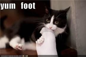 yum   foot