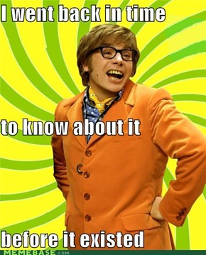 Hipster Austin Powers