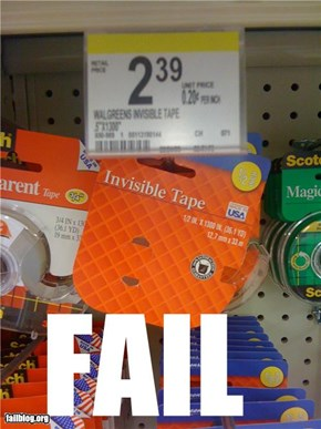 Invisible Fail