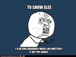 Attention Gleeks.