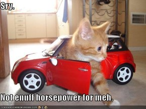 Sry.  Not enuff horsepower for meh.