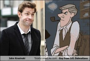John Krasinski Totally Looks Like Guy from 101 Dalmatians