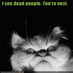 I see dead people. You're next.