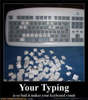 YOUR TYPING