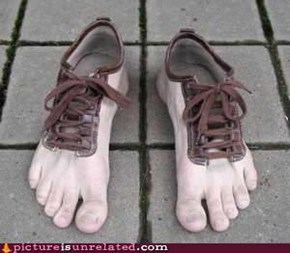 Horrifying Foot Wear