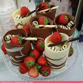 Epicute: Chocolate Swirl Cups