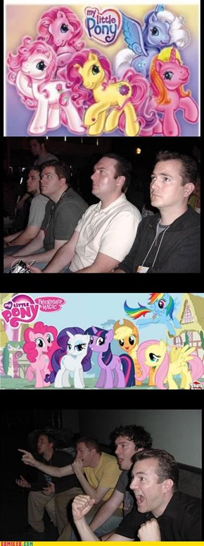 My Little Bronies...Dudes Love It