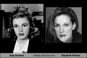 Judy Garland Totally Looks Like Elizabeth Perkins