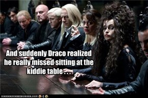 There Are No Snakes At The Kiddie Table