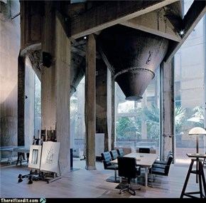 Not-A-Kludge: Cement Factory Turned Office/Mansion