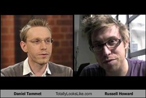 Daniel Tammet Totally Looks Like Russell Howard