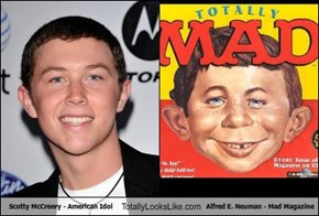 Scotty McCreery - American Idol Totally Looks Like Alfred E. Neuman - Mad Magazine