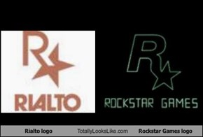 Rialto logo Totally Looks Like Rockstar Games logo