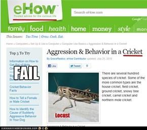 eHow fail.