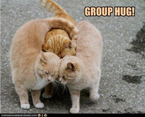 GROUP HUG!