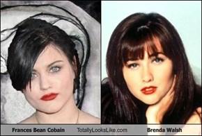 Frances Bean Cobain Totally Looks Like Brenda Walsh