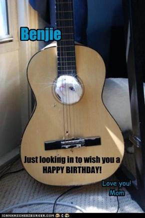 Benjie: Birthday, 2011