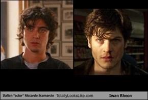 "Italian ""actor"" Riccardo Scamarcio Totally Looks Like Iwan Rheon"
