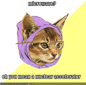 microwave?  oh you mean a nuclear accelerator