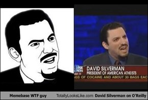 Memebase WTF Guy Totally Looks Like David Silverman on O'Reilly