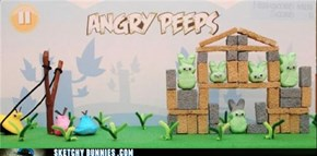Extra Easter Egg: Angry Peeps!