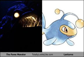 The Fame Monster Totally Looks Like Lanturne