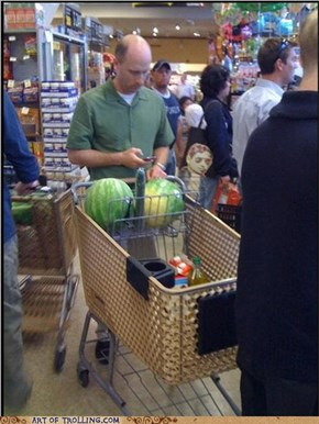 IRL Troll: Huge Melons
