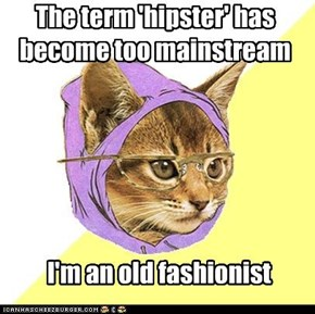 The term 'hipster' has become too mainstream