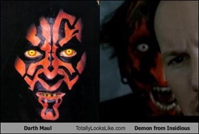 Darth Maul Totally Looks Like Demon from Insidious