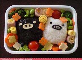 Epicute: Piggie Bento Rice Balls