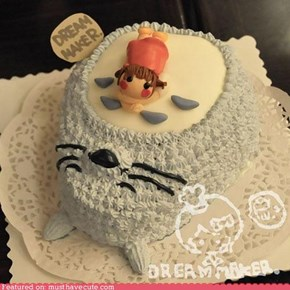 Epicute: Sleepy Totoro Cake
