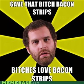 bacon strips and bacon strips